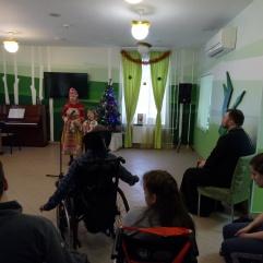 Рождественский концерт для получателей социальных услуг Центра.